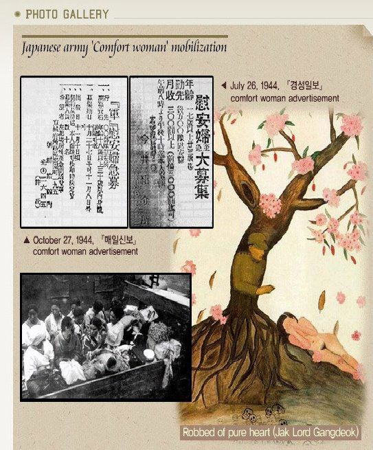 Source material released by the Korean government in an attempt to demonstrate that Korean women were coerced into serving as comfort women; strangely enough, it includes newspaper advertisements for comfort women