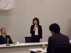 自民党 衆議院議員 稲田朋美 先生