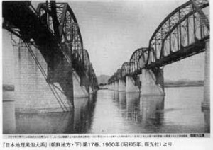 Railroad bridge over Han River