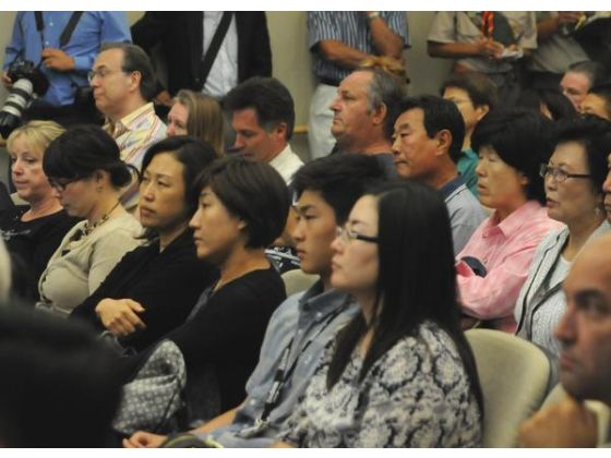Dozens of members of the Asian community were in attendance at the Fullerton City Council meeting Tuesday, when the council voted to support HR 121, which acknowledges the plight of Korean women forced into human slavery during World War II.