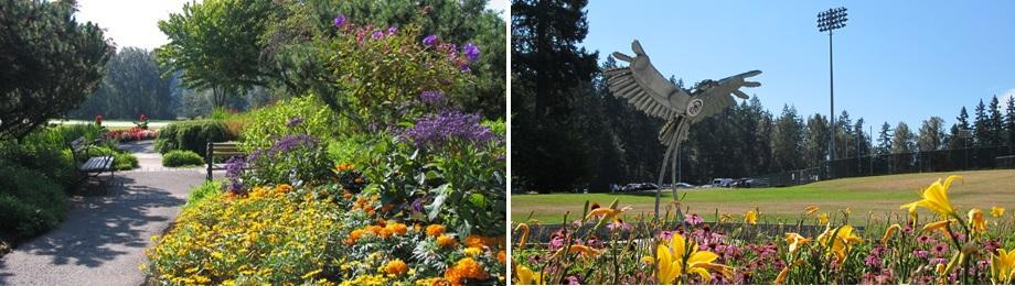 慰安婦像計画のあるカナダBC州バーナビー中央公園