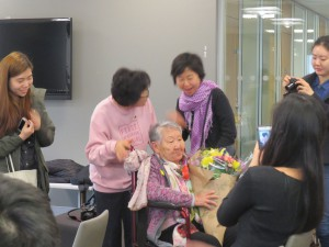 "the ""comfort woman"" survivor Gil Won Ok"